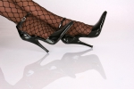 Edle High Heels Pumps schwarz